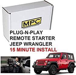 cheap Jeep Wrangler 2007-2018 MPC Remote Start Start Tips-Plug and Play-Use the Factory …