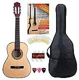 Classic Cantabile Acoustic Series AS-851-L guitarra clásica 1/2 set de inicio para zurdos