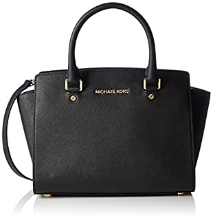 Michael Kors Selma, Borsa Tote Donna, Nero (BLACK), 10x23x29 centimeters (W x H x L) (B00IM5JJ48) | Amazon price tracker / tracking, Amazon price history charts, Amazon price watches, Amazon price drop alerts