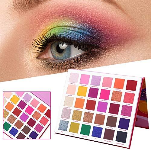 SHOH Make-up Oogschaduwpalet, voor oogschaduw, matte glitter, make-up, 30 kleuren, oogschaduwpalet, markeerstift, glanzend, make-up pigment, oogschaduwpalet, cosmetica, zomertinten
