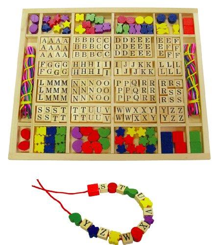 Sapin Malin - SM50166 - Loisir Créatif - Coffret Perles - Lettres et Formes