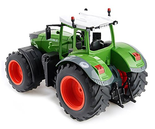 RC Auto kaufen Traktor Bild 3: efaso E351-003 1:16 2,4 GHz Ferngesteuerter RC Traktor Trecker mit Heuwender und Licht- und Soundeffekten - Komplett RTR*