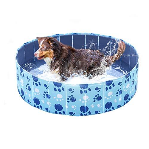 Wdmiya Piscina para Perros, Piscina Infantil para Niños, Bañera Plegable para Mascotas,...