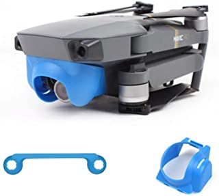 HONGYI Camera Hood Sunhood Sunshade Anti-Glare Gimbal Protector Cover Cap for DJI Spark Drone Accessories Lens Cover Accessories Color : Black