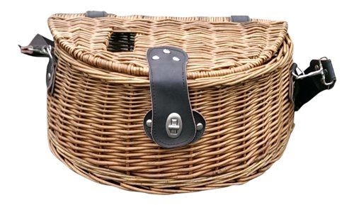 Red Hamper Flying Fishing Creel, Wicker, Brown, 22 x 35 x 19 cm