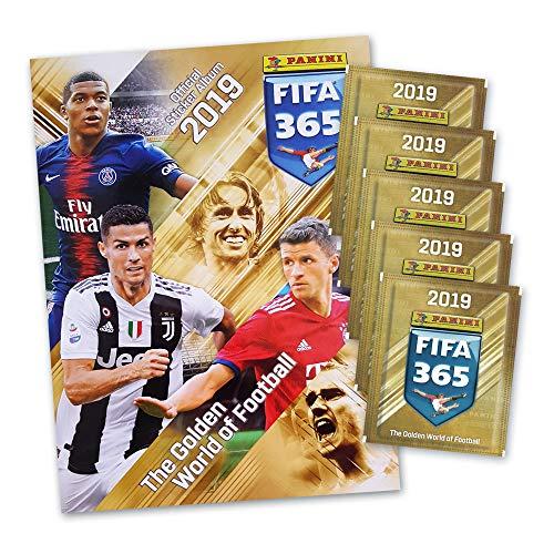 FIFA 365 Edition 2020 Sticker + stickermarkt24de Sleeves 125 Sammelsticker 25 Booster