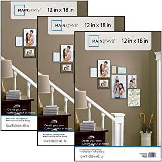 Mainstays 12x18 Format Picture Frame, Set of 3