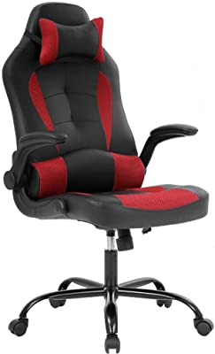 Fabulous Amazon Com Staples 2829477 Gaming Chair Black And Grey Alphanode Cool Chair Designs And Ideas Alphanodeonline