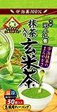 上辻園 抹茶入玄米茶 ティーバッグ(3g*30袋入)