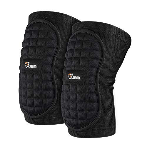 JBM Knee Brace Soft Non Slip Knee Pads Breathable Knee Compression Sleeve Elastic Anti-Collision...