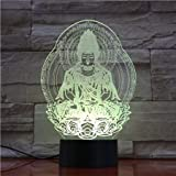 Luces de Buda Luces de Noche Iluminación Mesa Niños Decoración del hogar