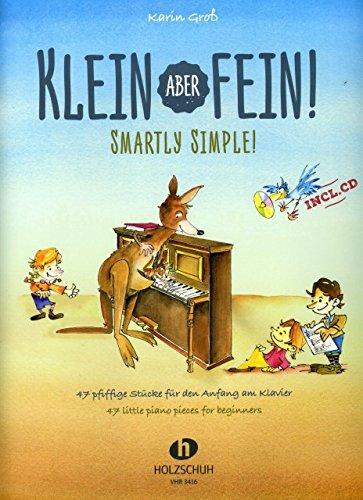 KLEIN ABER FEIN - arrangiert für Klavier - mit CD [Noten / Sheetmusic] Komponist: GROSS KARIN