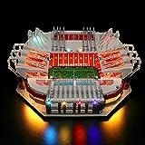 CALEN Juego de luces LED para Lego 10272 Old Trafford - Manchester United, iluminación suave, compatible con Lego 10272 (LED incluido solamente)