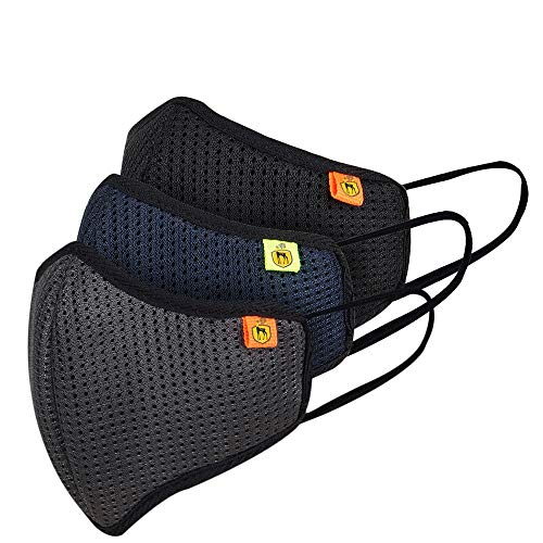 Marc Loire- Made in India Standard Size ISO CE Certified Reusable/Washable 5-Layered...