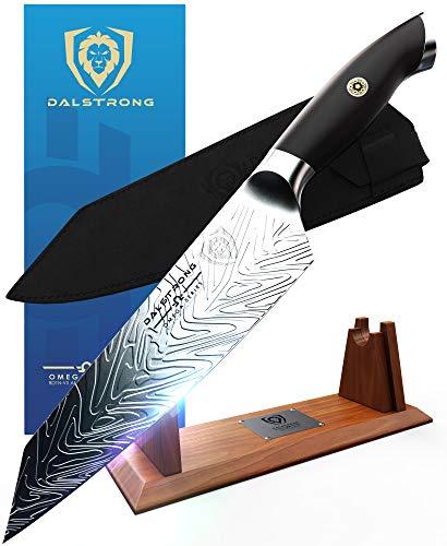 """DALSTRONG - Kiritsuke Chef Knife - 8.5"""" - Omega Series - American BD1N-VX - Hyper Steel - w/Sheath"""