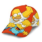 Simpsons Baseball Cap Hip Hop Classic Verstellbar