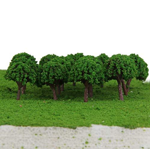 N-K 50 stücke Wald bäume Modell Wald Pflanzen Machen zubehör z t Skala Zug Eisenbahn Eisenbahn Landschaft Diorama oder Layout langlebig und nützlich