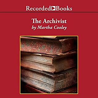 The Archivist audiobook cover art