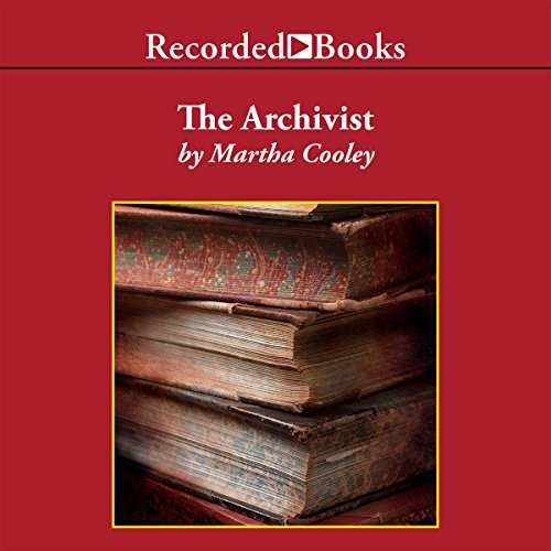 The Archivist audiobook cover art