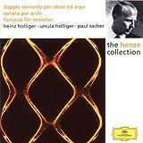 Hans Werner Henze - Sonata per archi / Doppio concerto per oboe, arpa ed archi / Fantasia für Streicher - .U. Holliger