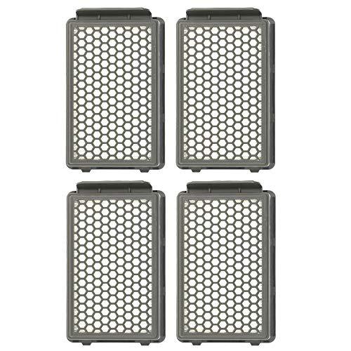 2/4 filtros para aspiradora Rowenta ZR903501 RO3715 RO3759 RO3798 (4 unidades)