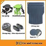 Hjiaqi - lovely Colchón Impermeable e Hinchable,Cama Inflable del automóvil de la Tela de Flocado de la Tela del Coche del colchón Inflable del automóvil SUV Suministros de Coches (Color Name : F4)