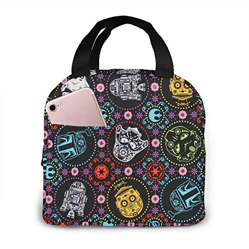Hlkjos48s Star Wars Lunch Bag for Women Stylish Lunch Tote Bag Insulated Lunch Bag Lunch Box Insulated Lunch Container
