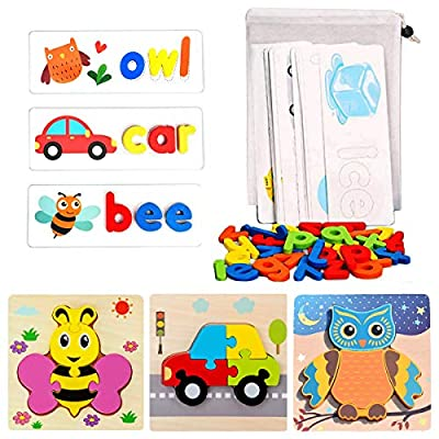 See and Spell Learning Toys, Matching Letter Pu...