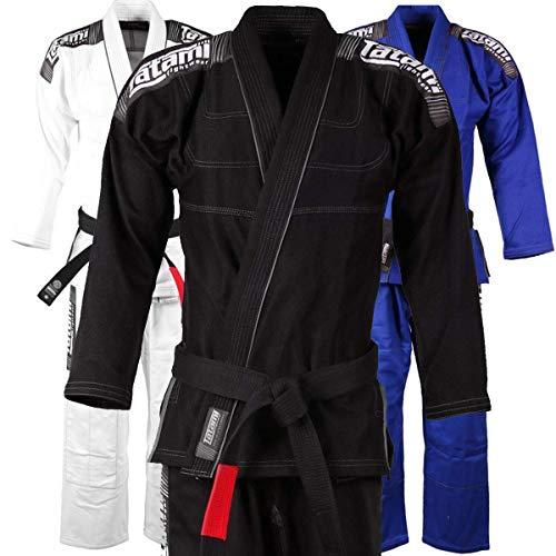 Tatami BJJ Gi Nova Plus für Herren - Inklusive weißem Gürtel und BJJ Sticker - BJJ Gi Kimono Jiu Jitsu Anzug für Männer von der #1 BJJ Marke Tatami (Blau, A2)