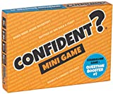 CONFIDENT? Mini Game: Extra Questions for the Hit Quiz Game & Standalone Pocketsize Card Game - For Families, Adults & Kids