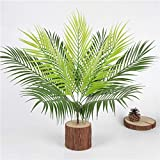 Homyl Grün Kokosnuss Palmblätter Kunstblätter Deko Künstliche Blätter - 3 - 3