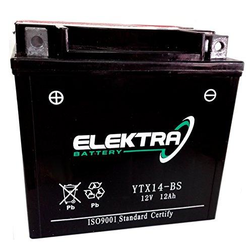 Batteria sigillata Elektra YTX14-BS 12 V 12 Ah 200 CCA