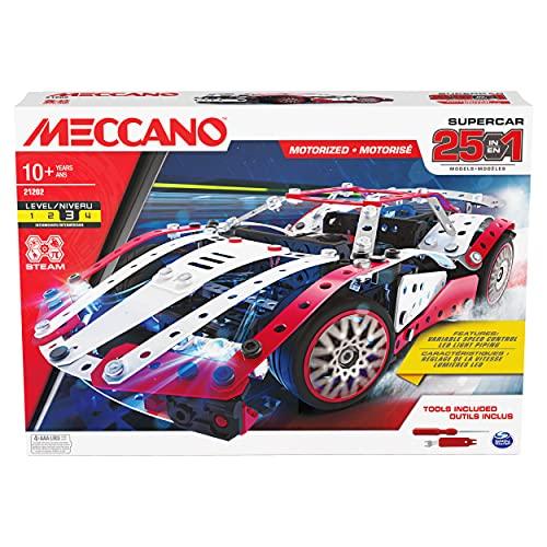 MECCANO Multi Model Supercar Set CN GML MEC 25-Juego de Accesorios para...