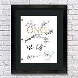 Once Upon A Time TV Autographed Signed Reprint 8.5x11 Script UNFRAMED - OUAT Ginnifer Goodwin, Jennifer Morrison, Lana Parrilla
