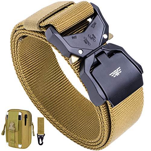 Best Pick: Fairwin Tactical Belt Military Belts for Men