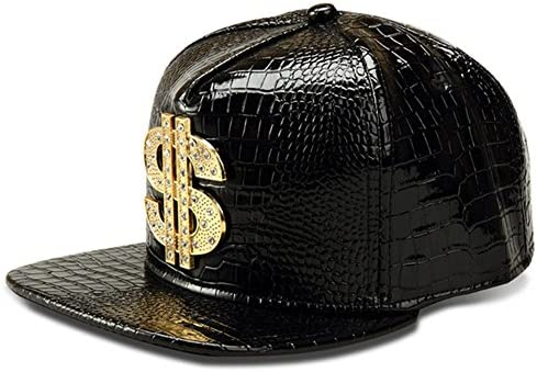 NYU14 The New Crocodile Baseball caps Alloy Dollar Flat-Brimmed hat Hip-hop hat