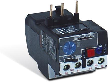 Rele Termico Challenger Sd2 Frame 25 50/60hz 4a - 6a Steck Cinza 4 - 6a