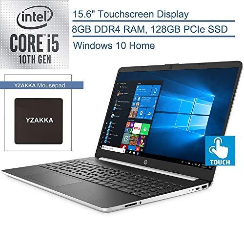 "New 2020 HP 15.6"" HD Touchscreen Laptop Intel Core i7-1065G7 8GB DDR4 RAM 512GB SSD HDMI 802.11b/g/n/ac Windows 10 Silver 15-dy1771ms"