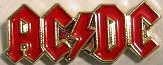 Spilla in metallo smaltato, motivo: Heavy Metal Rock Music, ACDC