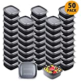 Meal Prep Containers Food Storage Containers with Lids - Stackable, Reusable, Microwave, Dishwasher...