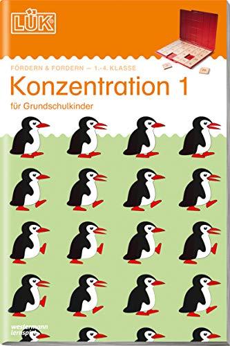 LÜK: Konzentration 1: für alle Grundschulkinder: Fördern und Fordern / 1./2./3./4. - Fördern & Fordern: Konzentration 1