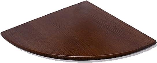MU Pływające półki z litego drewna dębowego, drewniane półki narożne, półka narożna, wisząca półka narożna, duży rozmiar i...