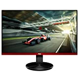 AOC G2490VX 24' Class Frameless Gaming Monitor, FHD 1920x1080, 1ms 144Hz, FreeSync Premium, 126% sRGB / 93% DCI-P3, 3Yr Re-Spawned Zero Dead Pixels, Black