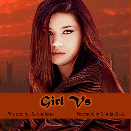 Girl Vs audiobook cover art
