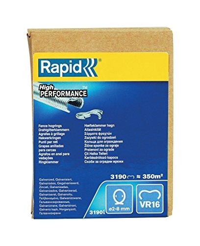 Rapid 40108808 Grapas, Plata, Pack of 3190, Set de 3190 Piezas