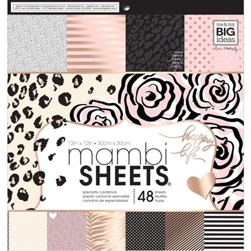 Me & My Big Ideas Paper Pad, Multicolour, Size L
