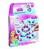Disney Princess Bastel-Set: Armbänder zum Selber Verzieren mit Anhängern, Perlen und Stickern von...