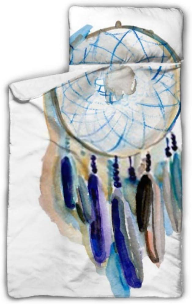 Overseas parallel import regular item Max 57% OFF HJSHG Kids Sleeping Bag Dream Background Watercolor Blue Catcher