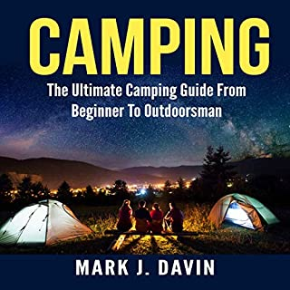 Camping audiobook cover art