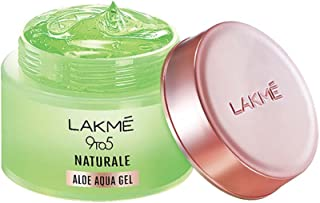 LAKMÉ 9 To 5 Naturale Aloe Aqua Gel, With Aloe Vera And Glycerine, Lightweight, Non Sticky, For Hydrated And Moisturized S...